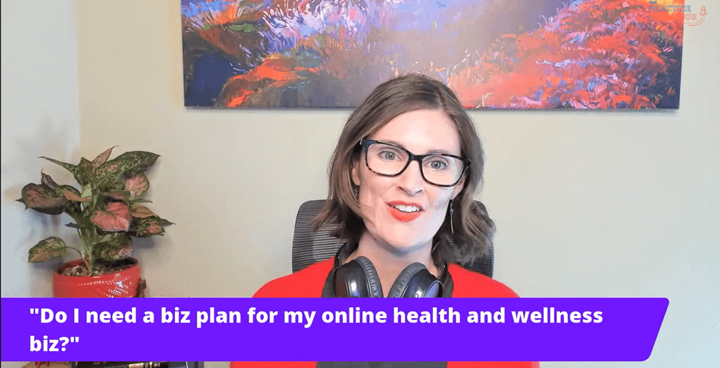 Does my online practice really need a business plan?
