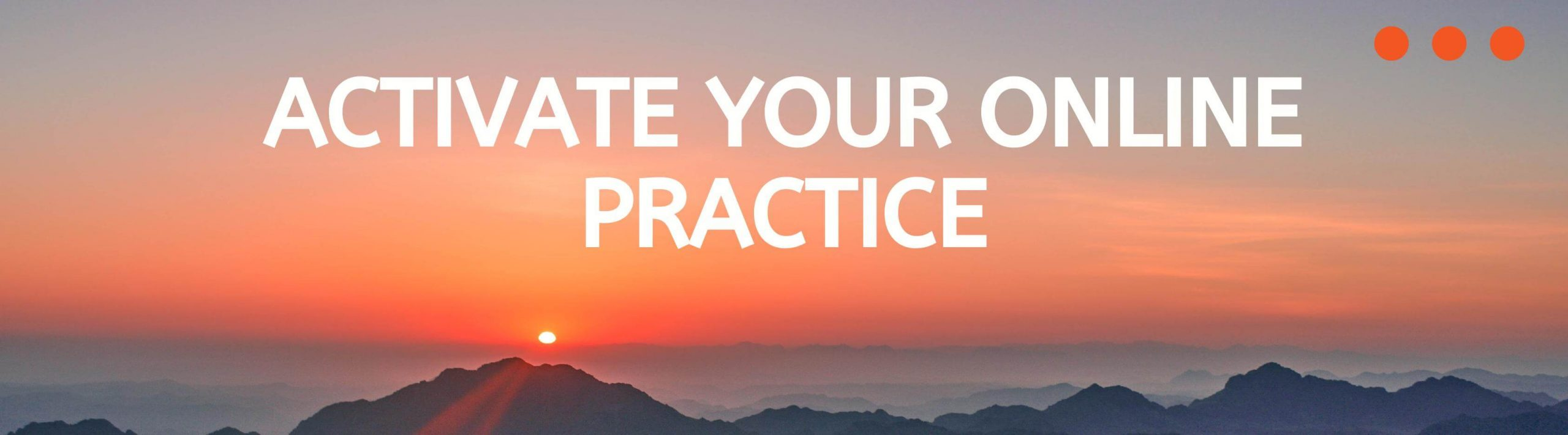 Build your online private practice